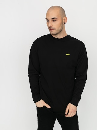 Vans Left Chest Hit Longsleeve (black/sulphur spring)