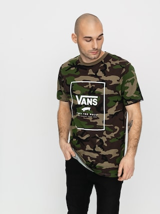 Vans Print Box T-shirt (camo/white)