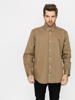 Carhartt WIP Madison Shirt (leather/dark navy)