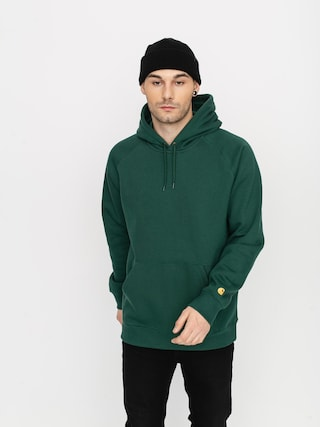 Carhartt WIP Chase HD Hoodie (treehouse/gold)