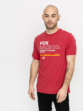 Fox Analog Tech T-shirt (chili)