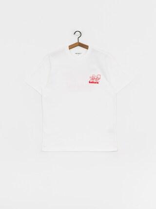 Carhartt WIP Bene T-shirt (white/red)