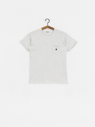 Carhartt WIP Carrie Pocket T-shirt Wmn (ash heather/white)