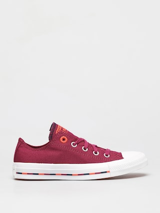 Converse Chuck Taylor All Star Pinstripe Ox Chucks Wmn (wine)