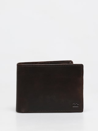 Billabong Vacant Leather Wallet (chocolate)