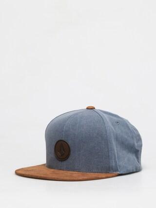 Volcom Quarter Fabric Cap (stormy blue)