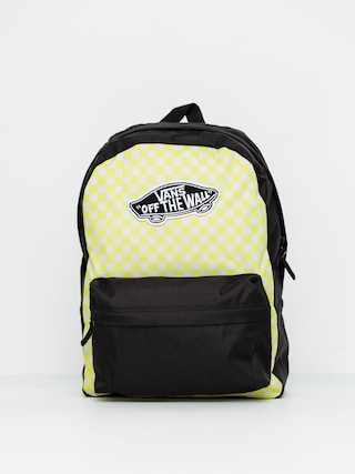 Vans Realm Backpack Wmn (lemon tonic checkerboard)