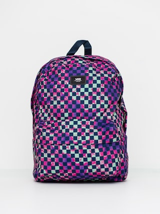 Vans Old Skool III Backpack (tie dye check)