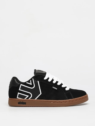 Etnies Fader Shoes (black/white/gum)