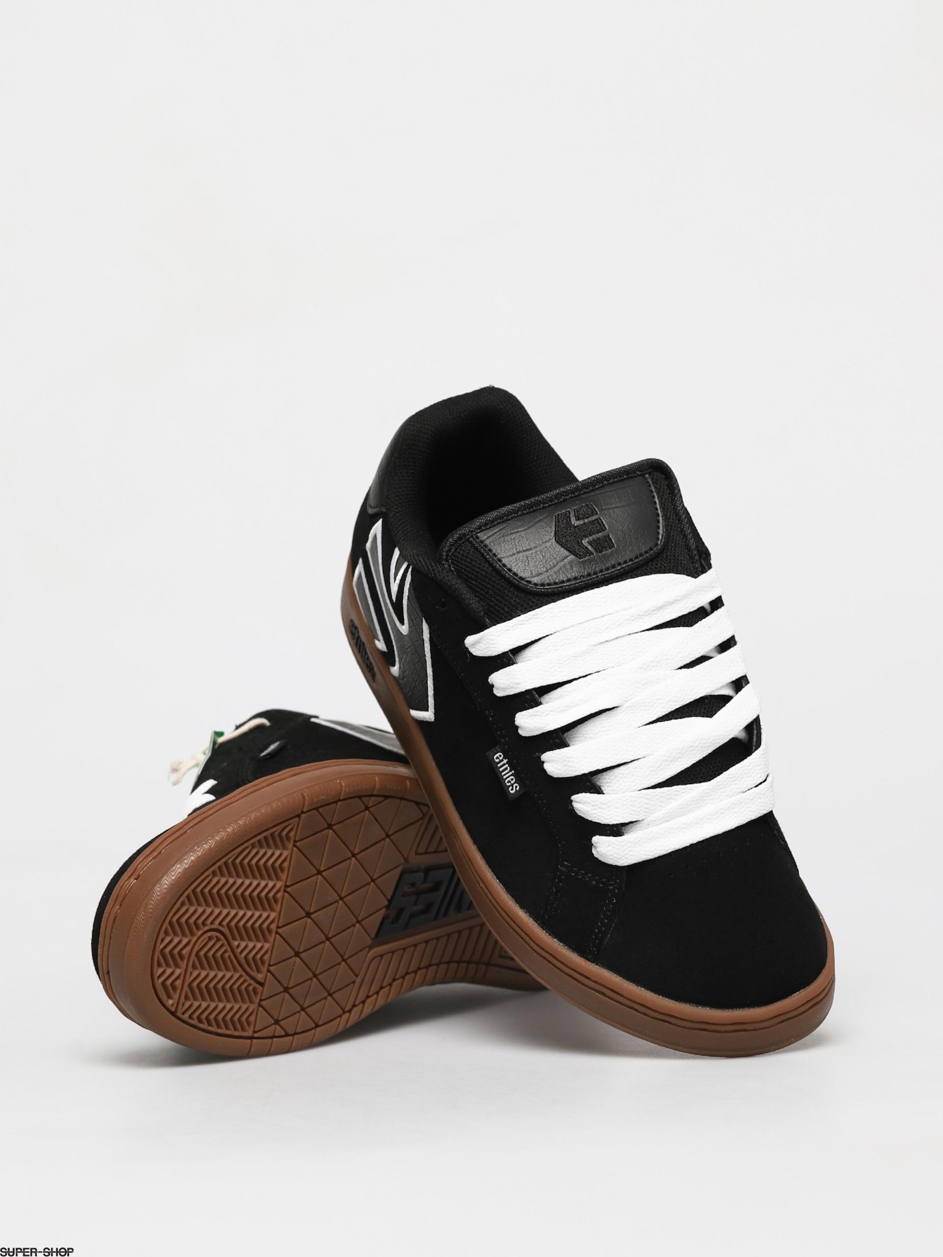 Etnies Fader Shoes (black/white/gum)