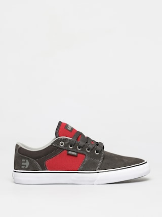 Etnies Barge Ls Shoes (dark grey/red)