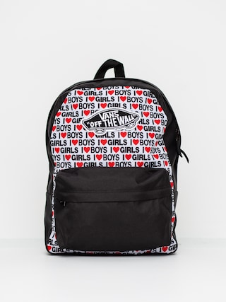 Vans Realm Backpack Wmn (i heart boys girls)