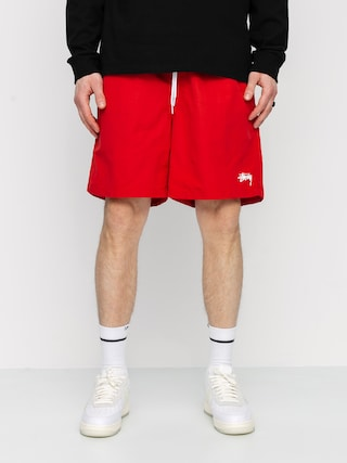 Stussy Stock Water Shorts (red)