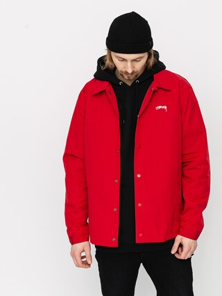 Stussy Classic Coach Jacket (burnt red)