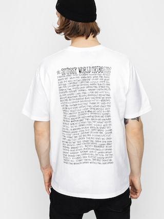 Stussy Jamaica World Tribe T-shirt (white)