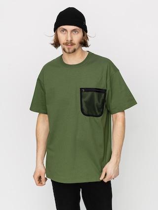 Carhartt WIP Military Mesh Pocket T-shirt (dollar green)
