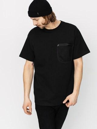Carhartt WIP Military Mesh Pocket T-shirt (black)