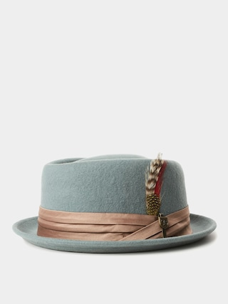 Brixton Stout Pork Pie Hat (cypress)