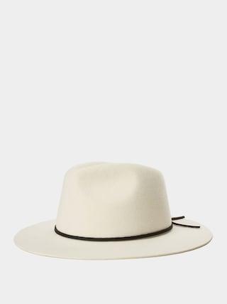 Brixton Wesley Fedora Hat (dove)