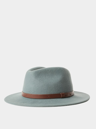 Brixton Messer Fedora Hat (cypress/brown)