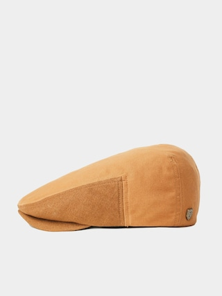 Brixton Hooligan Lw ZD Flat cap (washed copper/hide)