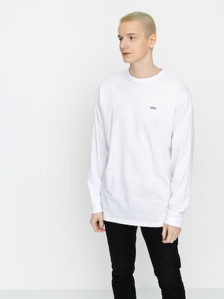 Vans Left Chest Hit Longsleeve (white/heliotrope)