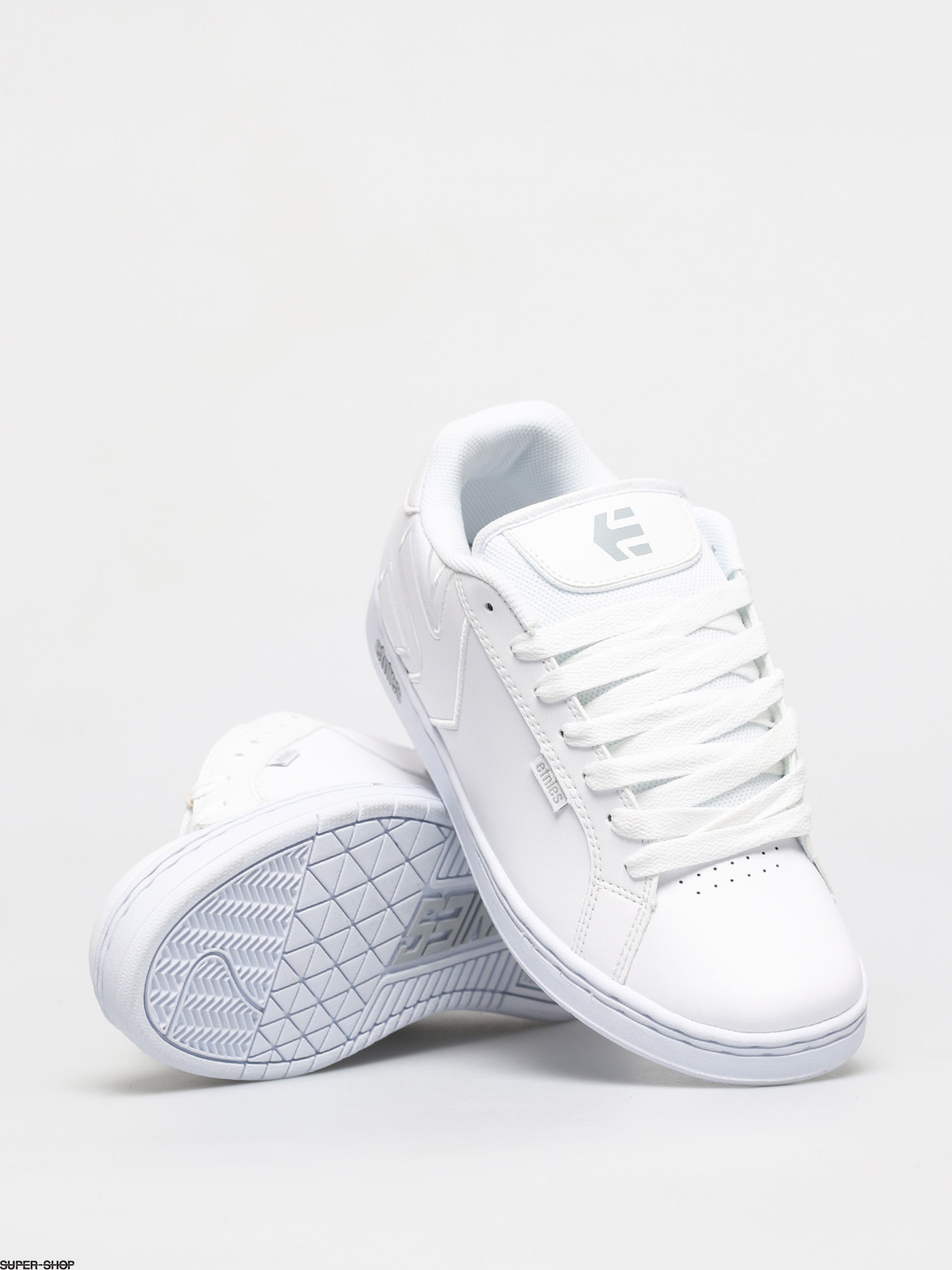 Etnies Fader Shoes (white/white/reflective)