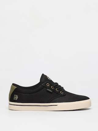 Etnies Jameson 2 Eco Shoes (black/green/gold)
