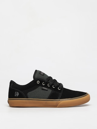 Etnies Barge Ls Shoes (black/green/gum)