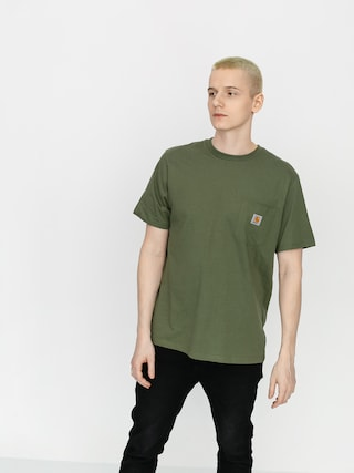 Carhartt WIP Pocket T-shirt (dollar green)