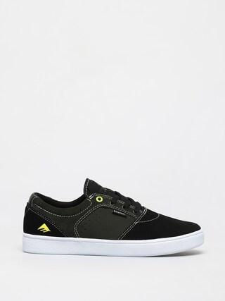 Emerica Figgy Dose Shoes (black/green/white)