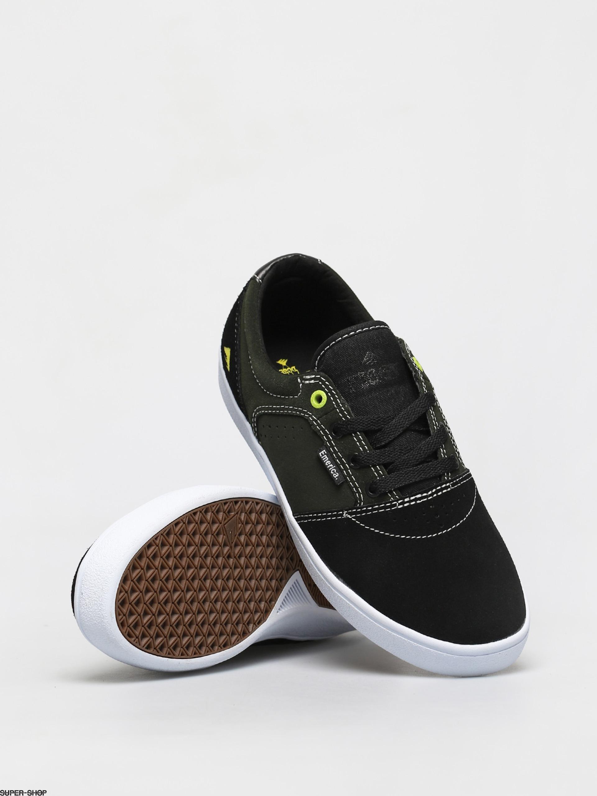 Emerica Figgy Dose Shoes (black/green