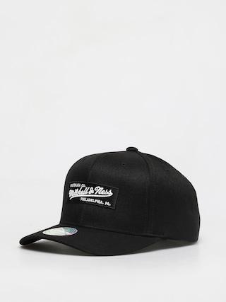 Mitchell & Ness Box Logo 110 6 Panel ZD Cap (black)
