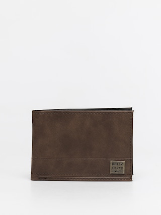 Quiksilver New Stitchy Wallet (chocolate brown)