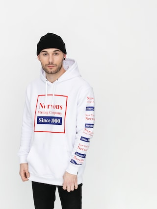 Nervous Repeat HD Hoodie (white)