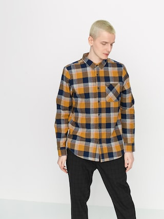 Volcom Caden Plaid Shirt (bronze)