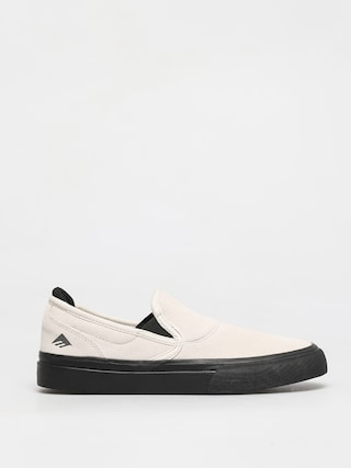 Emerica Wino G6 Slip On Shoes (white/black)