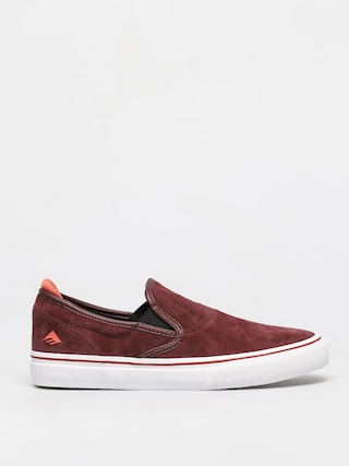 Emerica Wino G6 Slip On Shoes (burgundy)