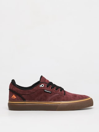 Emerica Dickson Shoes (burgundy/gum)