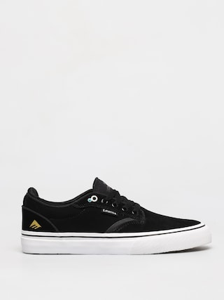 Emerica Dickson Shoes (black/white/gold)