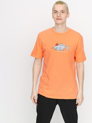 Volcom Trout There Ltw T-shirt (salmon)