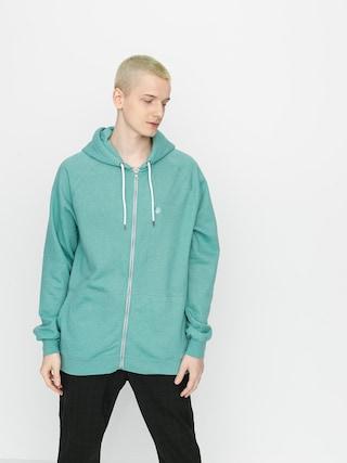 Volcom Timesoft Zip Sweatshirt (mysto green)