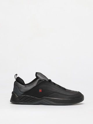 DC Williams Slim Shoes (black/dark grey/athletic red)
