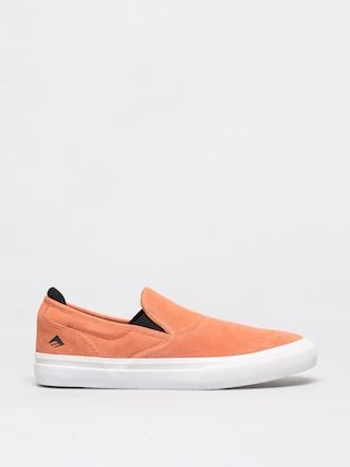 Emerica Wino G6 Slip On Shoes (peach)