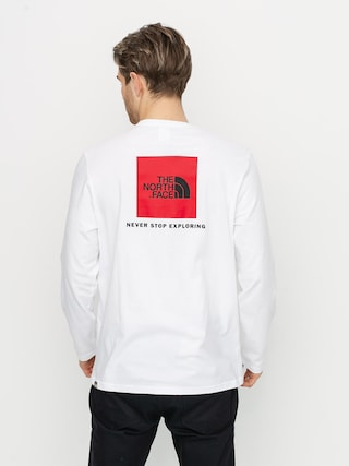The North Face Redbox Longsleeve (white)