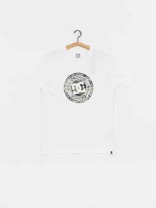 DC Circle Star 3 T-shirt (snow white/camo)