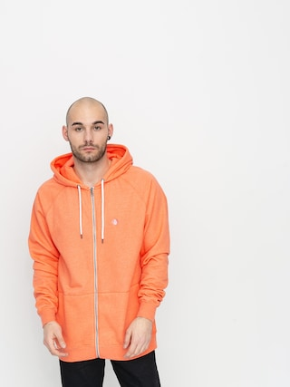 Volcom Timesoft Zip Sweatshirt (salmon)