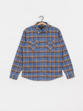Brixton Bowery Flannel Shirt (river blue)