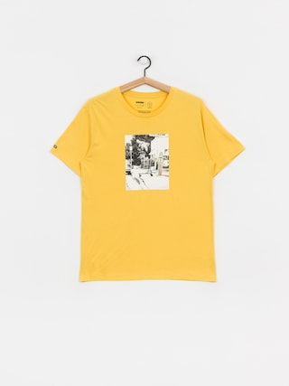 Brixton Cart T-shirt (yellow)