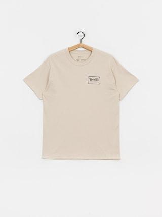 Brixton Grade Stnd T-shirt (vanilla/blue)